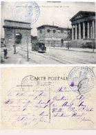 MONTPELLIER - Arc De Triomphe Et Palais De La Justice - Cachet Militaire : Dépot 1° Rgt  Du Génie (87617) - Montpellier