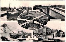 Cp-France - LE GUETIN - CHER Pont-canal-Hôtel - France