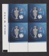 FRANCE / 2016 / Y&T N° 5039 ** : Euro 2016 1.00 €  X 4 Coin Daté 2016 03 07 - HEL 307 - Coins Datés