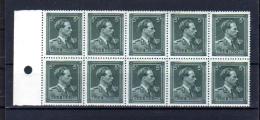 5F Léopold III, Bloc De 10 X  696b **, Cote 85 €, - Unused Stamps