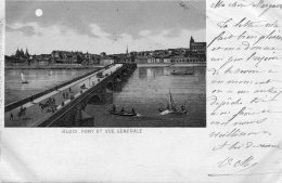 FRANCE -  BLOIS - Pont Et Vue Generale  - 1900- Vignette -  Good Postmarks Etc - Blois