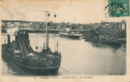 DIEPPE - BATEAUX - L'Avant Port - Les Dragues - Dieppe