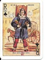 Carte à Jouer  Marchand De Melons - Vieux Papiers