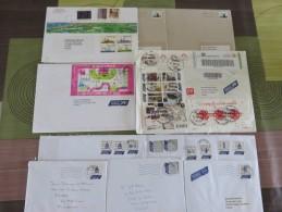 Lot De 12 Enveloppes Pays Bas Et Canada - Timbres
