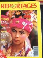 Grands Reportages N° 106 : Paraguay - Haut Pays Niçois - Chypre - Camel En Sibérie.  1990 - Aardrijkskunde