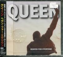 """Queen""""CD Maxi 3 Titres""""Heaven For Everyone""""Japon Neuf/Scellé - Collectors"""
