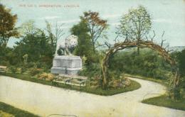 GB LINCOLN / The Lion, Arboretum / CARTE COULEUR - Lincoln