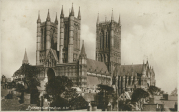 GB LINCOLN / Lincoln Cathedral / - Lincoln