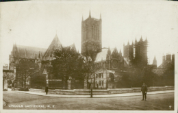 GB LINCOLN / Lincol Cathedral / CARTE GLACEE - Lincoln