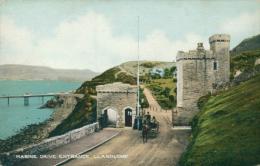GB LLANDUDNO / Marine Drive Entrance / CARTE COULEUR - Pays De Galles