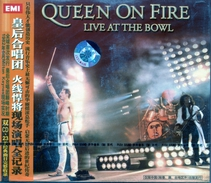 """Queen On Fire""""CD Album""""Live At The Bowl""""Japon Neuf/Scellé - Collector's Editions"""