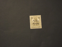 POLONIA - 1919 Soprastampato 5 Su 2 - NUOVO(+) - Ungebraucht
