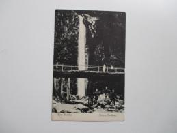 AK 1906 Seltene Karte Ayer Mantjoer. Padang Pandjang. Soldaten / Kolonie. Schrijfruimte. Wasserfall. Tolle Karte. RAR - Nederlands-Indië