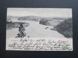 AK 1902 Rußland / Finnland. Kekrinlahti. Sortavala. Interessante Karte. Stempel: Räfso Reposaari - Finlande