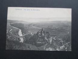 AK 1907 Luxemburg Vianden. Vue Prise De Belvedere. N. Schumacher, Mondorf - Les - Bains No 15 Ansichtskarte - Vianden
