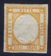 Italy:  Sa 22  Mi 6  MH/* Falz/ Charniere  Signed/ Signé/signiert/ Approvato - 1861-78 Victor Emmanuel II.