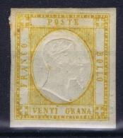 Italy:  Sa 23  Mi 7  MH/* Falz/ Charniere - 1861-78 Vittorio Emanuele II