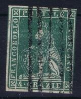 Toscana  Sa 14  Mi 14  Used Obl. 1857 - Toscane