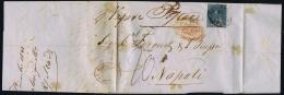 Toscana  1853 Sa 7,  Letter From Livorno To Genova - Toskana