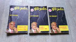 Lot 3 Romans Policier Allo Police Lew Dolegan N° 25 - 7  -24   Police Ancien SEG 1961 - Livres, BD, Revues