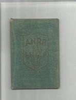 102847 ANTICA TESSERA CON FOTO ANRP ASSOCIAZIONE NAZIONALE REDUCI DALLA PRIGIONIA REDUCE DA GERMANIA - Documenti Storici