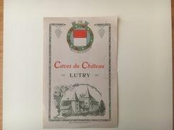 711 -  Suisse Vaud  Caves Du Château Lutry - Etiquettes