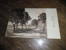CPA Du Morvan - N°61 - Allée à Ponay - Signé Lucien Seevagen Artiste Peintre(1887-1959) - Illustrateurs & Photographes