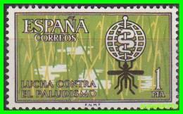 ESPAÑA   SELLO  AÑO 1962  -  CAMPAÑA MUNDIAL  ANTIMALARIA - 1961-70 Unused Stamps