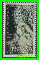 ESPAÑA   SELLO  AÑO 1964  - CORONACIÓN DE LA VIRGEN DE LA MACARENA - 1961-70 Unused Stamps