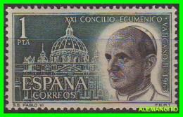 ESPAÑA   SELLO  AÑO 1963  -  CONCILIO ECUMÉNICO VATICANO II - 1961-70 Unused Stamps