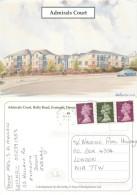 Admirals Court, Exmouth, Devon, England Postcard Posted 2000 Stamp - Inghilterra