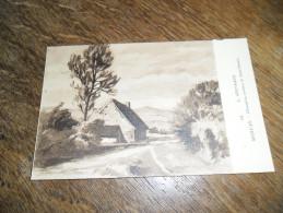 CPA Chaumière, Environs De Saint Honoré - N°44 - Morvan - Illustrateur Lucien Seevagen Artiste Peintre(1887-1959) - Saint-Honoré-les-Bains