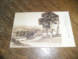 CPA Paysage De Saint Léger Sous Beuvray - N°54 - Morvan - Illustrateur Lucien Seevagen Artiste Peintre(1887-1959) - Autres Communes