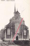 TURNHOUT - L'Eglise Du Béguinage - Carte Animée, Circulée Vers Namur En 1905 - Turnhout