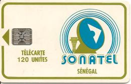 CARTE-PUCE-SENEGAL-120U-SC5-SONATEL-V°5 GE38182-TBE