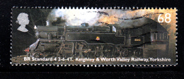 Great Britain Used Scott #2177 68p BR Standard  2-6-4T. Keighley & Worth Valley Railway, Yorkshire - 1952-.... (Elizabeth II)