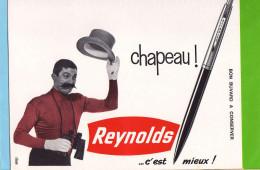Buvard & Blotting Paper  : Chapeau REYNOLDS Stylo  C´est Mieux - Stationeries (flat Articles)