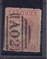 Antigua1863-7:  Scott2 Used With Wmk. - Antigua & Barbuda (...-1981)