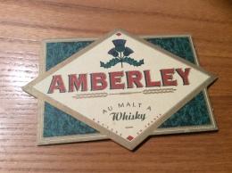 "Sous-bock ""AMBERLEY AU MALT A Whisky"" (dos Nu) - Sous-bocks"