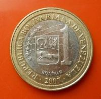 Venezuela 1 Bolivar 2007 - Venezuela