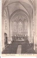 Passy-Froyennes (Tournai-Hainaut )-1910-Intérieur De La Chapelle Du Pensionnat Saint-Luc-Pas Courante - Tournai