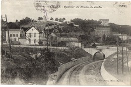 """Marseille (13 Bouches-du-Rhône)  Saint-Antoine - Quartier Du Moulin Du Diable - Carte Postale """" L'instructive """" - Quartiers Nord, Le Merlan, Saint Antoine"""