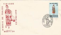"B)1981 MEXICO, WOMEN, SERIES NATIONAL COSTUMES, MESTIZA ""PUREPECHA·, UNUSED FDC - Mexico"