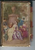 Carnet De Bal Complet Métallique Doré - Other Collections