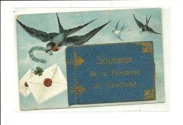 Souvenir De La FONTAINE DE VAUCLUSE Carte à Système Avec Dépliant De 8 Vues - Francia