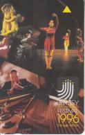 JERSEY ISL. - Jersey International Festival 1996, CN : 48JERE(normal 0), Tirage %20000, Used