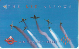 JERSEY ISL. - The Red Arrows 3, CN : 48JERC(normal 0), Tirage %25000, Used