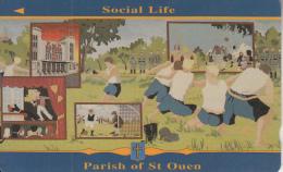 JERSEY ISL. - Liberation 12/Social Life, CN : 39JERL(normal 0), Tirage 15000, Used - United Kingdom