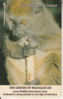 JERSEY ISL. - The Lemurs Of Madagascar/Alaotran Gentle Lemur, CN : 22JERD(normal 0), Tirage %13564, Used