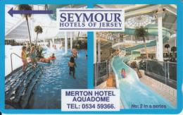 JERSEY ISL. - Seymours Hotels, CN : 10JERD(normal 0), Tirage 15000, Used - United Kingdom